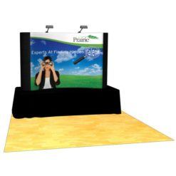 Table Top 8ft Pop-Up Display & Case – Center Graphic Package