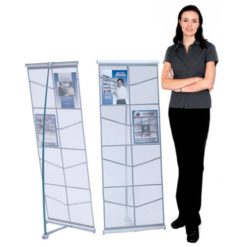 MESH Double Literature Stand
