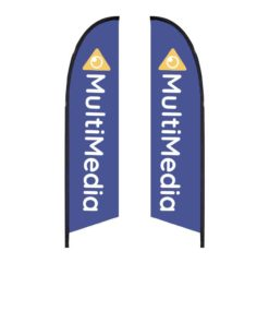 10.5 Ft. Falcon Flag – Double-Sided Graphic Only