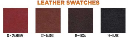 Gold Medal Leather Color Swatches