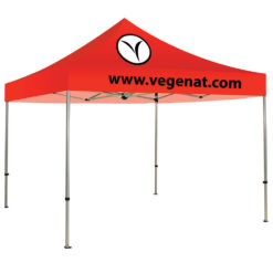 10ft Casita 2 Color Logo Red Canopy Tent