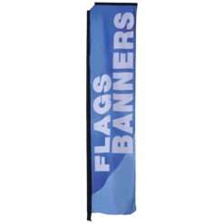 Mamba Outdoor Banner Stand Medium Single Sided Printed Graphic Only 1