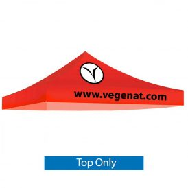 Casita Canopy Tent 10 ft. Stock Red 2 Color Logo (Top Only)