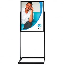Indoor Sign DisplayLarge Heavy Base Black