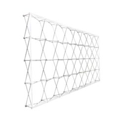 20'X10' RPL Fabric Pop Up Display - Straight (Frame Only)