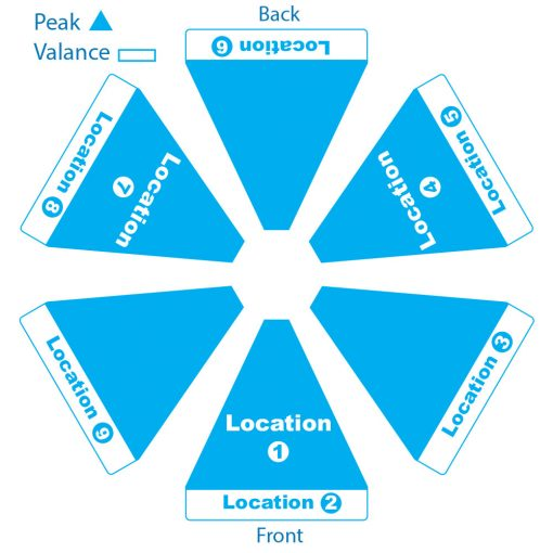 Skycap Umbrella Hexagon Logo Locations