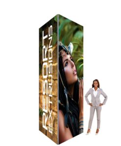 Big Sky Square Tower Non Backlit 5ft 12ft 5ft Graphic Package