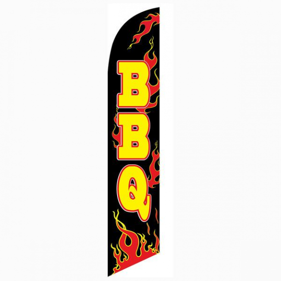 Bbq Feather Flag