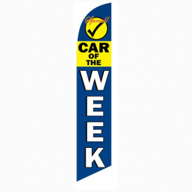 Car Of The Week Feather Flag