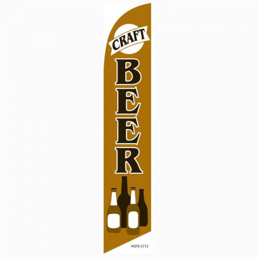 Craft Beer Feather Flag