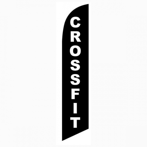 Crossfit Feather Banner Flag