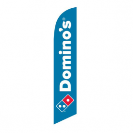 Domino's Pizza Feather Flag