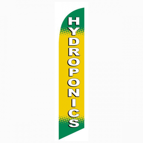Hydroponics Feather Flag