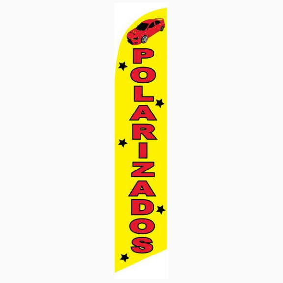 Polarizados Feather Flag