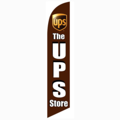 The Ups Store Feather Flag