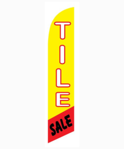 Tile Sale Feather Flag