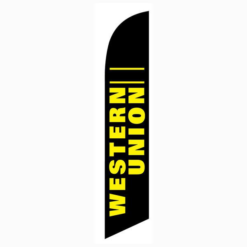 Western Union Feather Flag