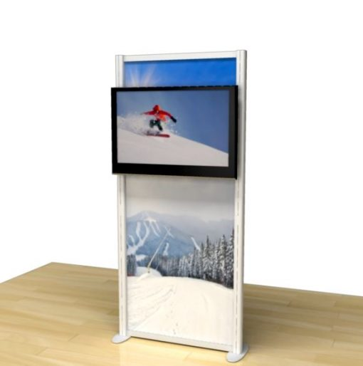 Timberline Monitor Stand View