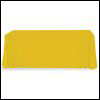 Table Throw Stock 8ft Yellow 3 Sided No Print 100x100